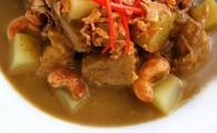 Массаман-карри с картофелем и свининой
