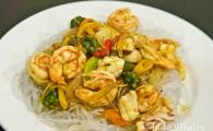 Пад Ча Талэй — острый стир-фрай из морепродуктов (ผัดฉ่าทะเล)
