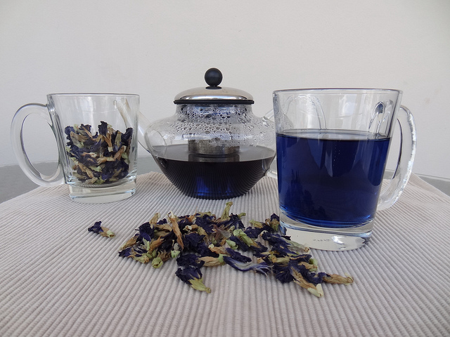 butterfly pea tea синий чай