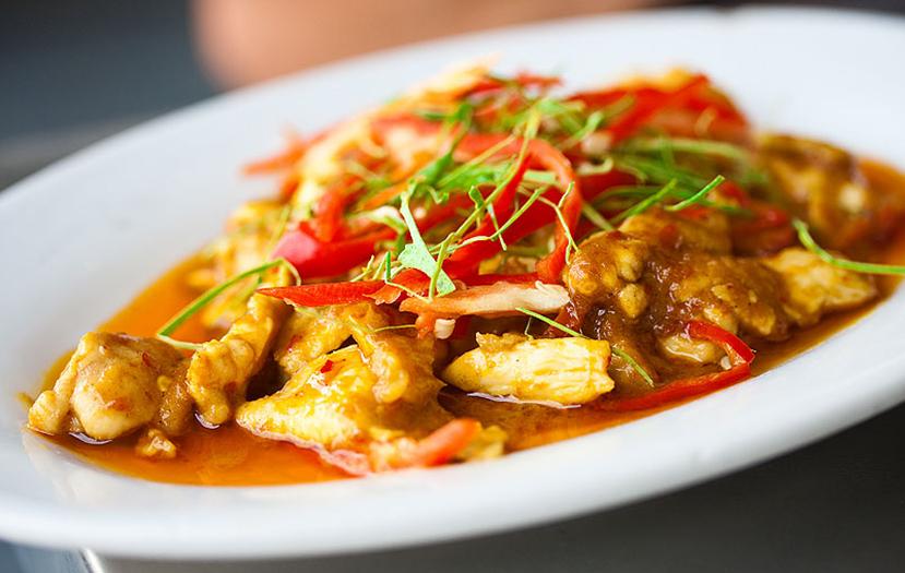Карри соус из морепродуктов по тайски