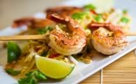 «По-ресторанному» хрустящие креветки