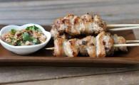 Муу Пинг — тайские шашлычки из свинины (หมูปิ้ง)