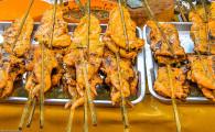 Барбекю из курицы с куркумой — Гай Янг Камин (ไก่ย่างขมิ้น)